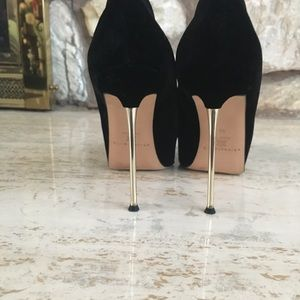 Brian Atwood Metal stiletto pumps size 38